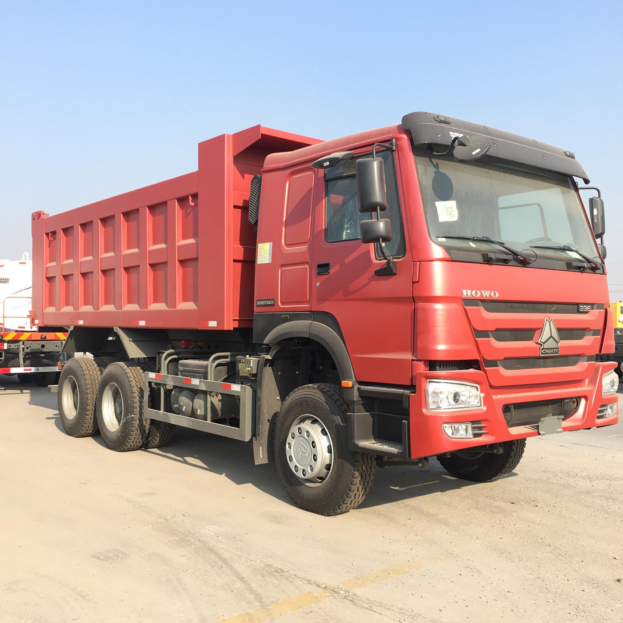 Sinotruk HOWO 8*4 18m3 30-50ton Dump Truck Dumper Tipper