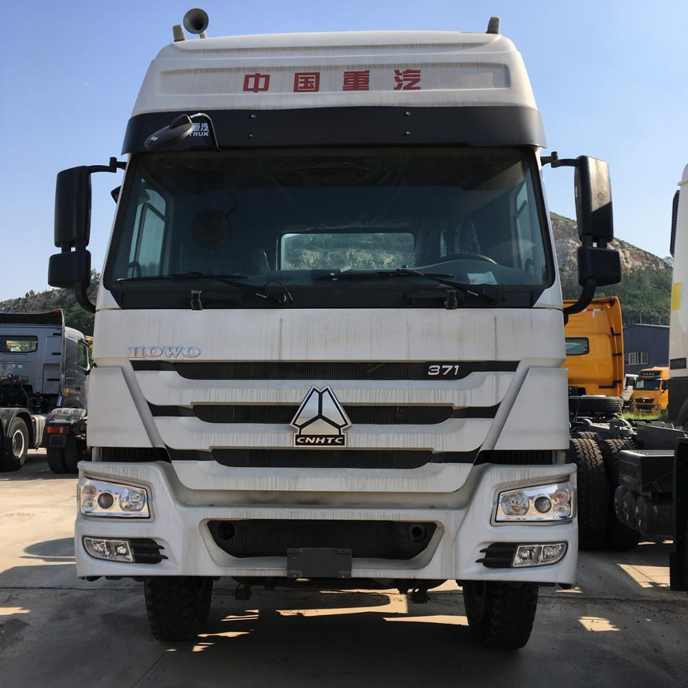 China Sinotruk Howo 336/371/420HP 6x4 Tractor Head Tractor