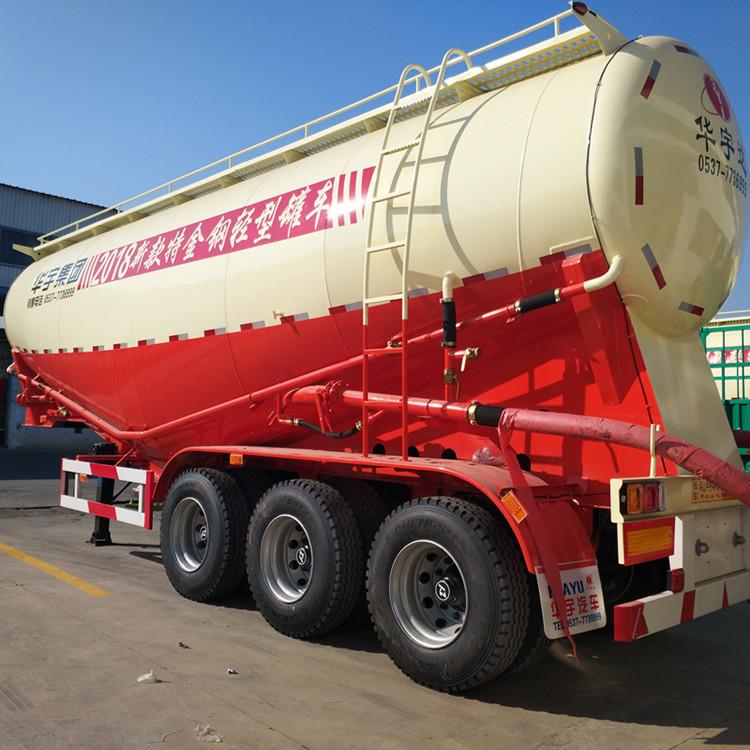 China 3 Axles Bulk Cement Transport Tanker Semi Trailer
