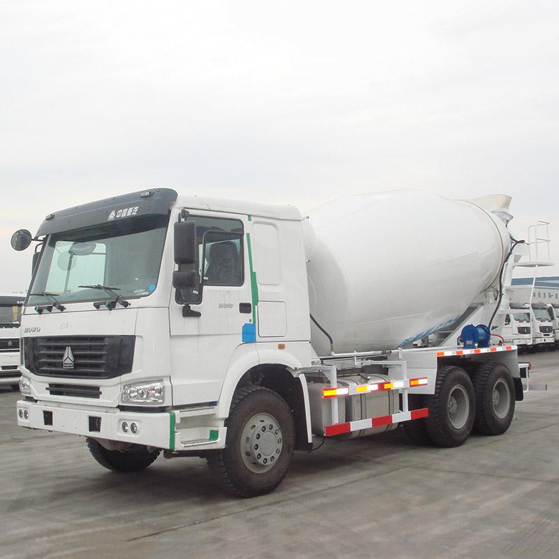 SINOTRUK HOWO 8 CBM/m³ Volume Tank Cement Mixer Truck, 6 x